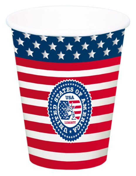 USA Party Cup XL 8's United States of America